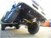 5 Link Coil Suspension - Canter Only
